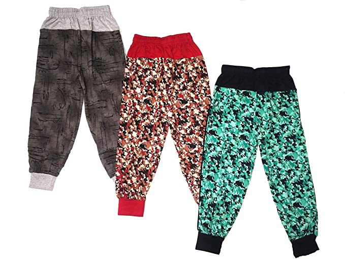 Details about  /Track Pant For Boys /& Girls Printed Regular Fit Comfort Multicolor Pack of 3