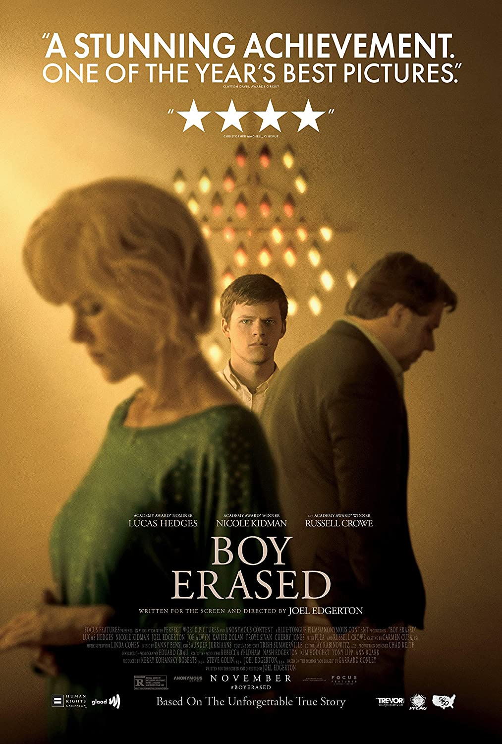 Image result for boy erased poster
