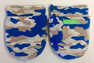 product image for Warmables RA Arthritis Heat Pack Glove, Blue camo