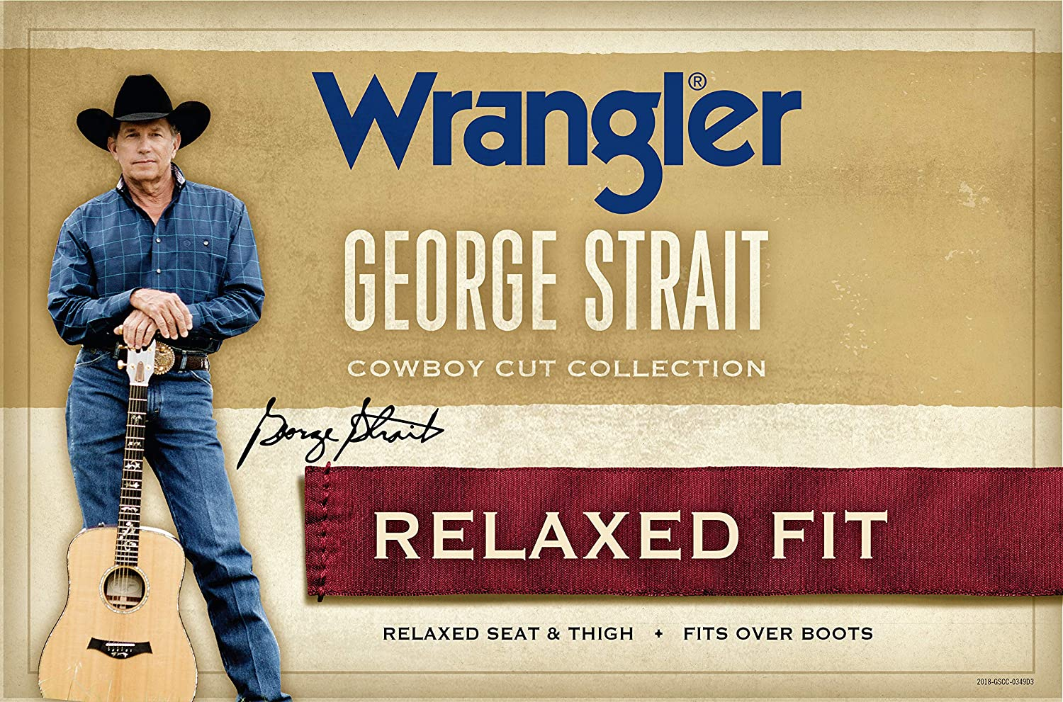 6ce6adfa Wrangler Men's George Strait Cowboy Cut Relaxed Fit Jean at Amazon Men's  Clothing store: George Straight Wrangler Jeans