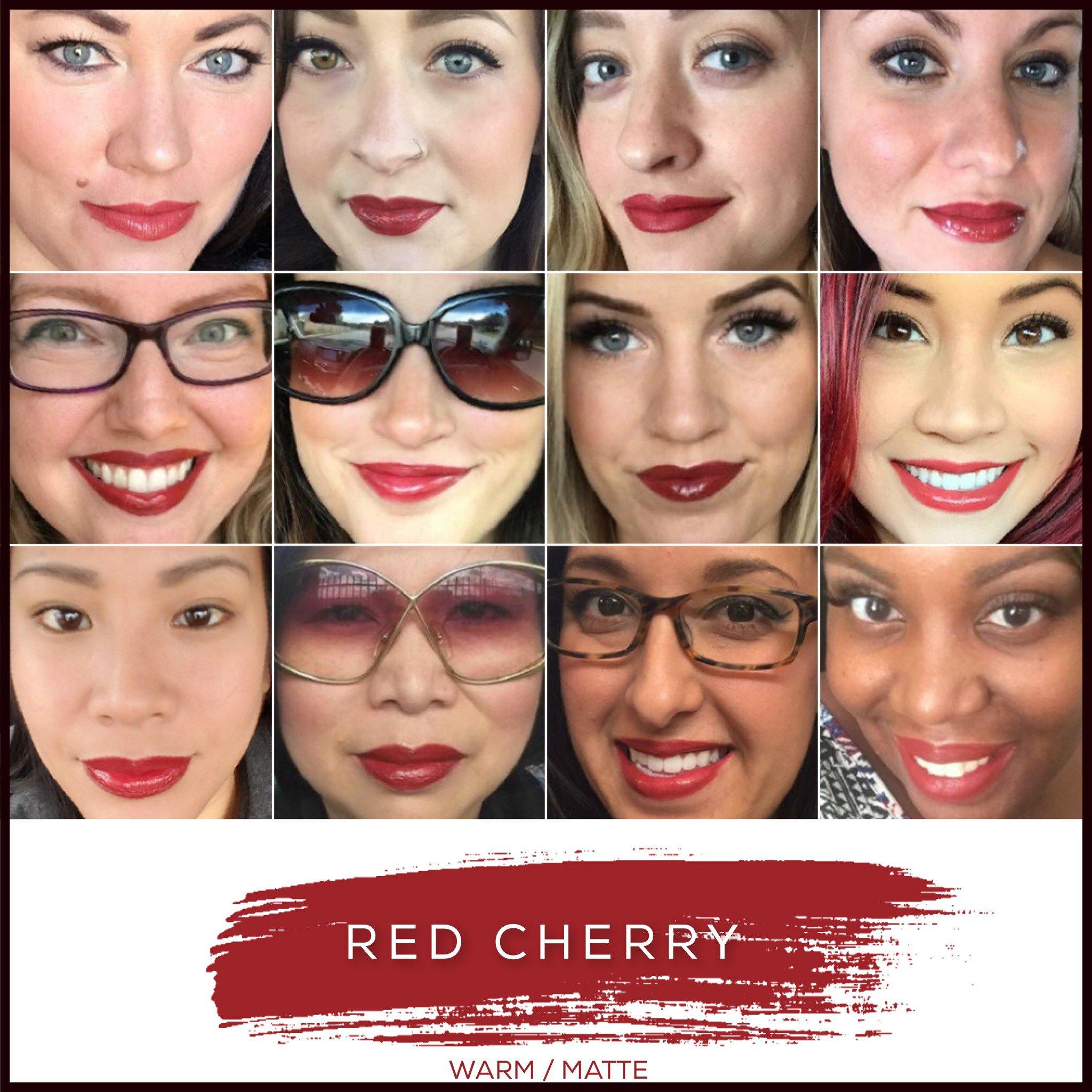LipSense Bundle (Red Cherry) 1  Lip Color and 1 Glossy Gloss by LipSense