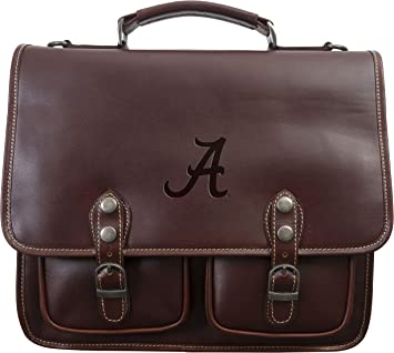 Distressed Brown One Size Canyon Outback NCAA LSU Tigers Sabino Canyon Briefcase