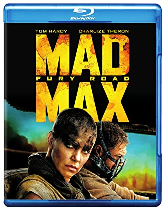 amazon com mad max fury road blu ray tom hardy charlize theron