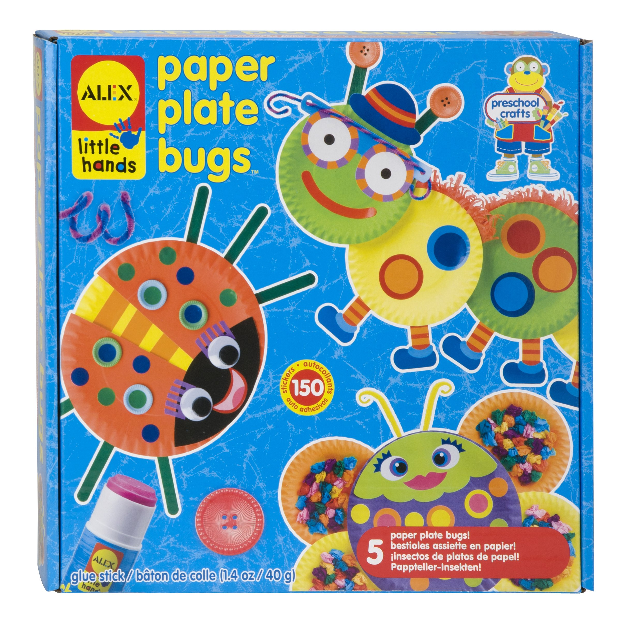 ALEX Toys Little Hands Paper Plate Bugs by ALEX Toys