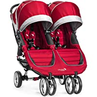 Baby Jogger 2016 City Mini Double Stroller (Crimson/Gray)