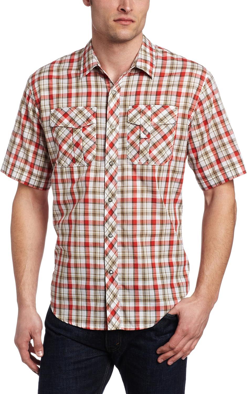Exofficio Hombre jenever Midi Plaid Camisa de Manga Corta
