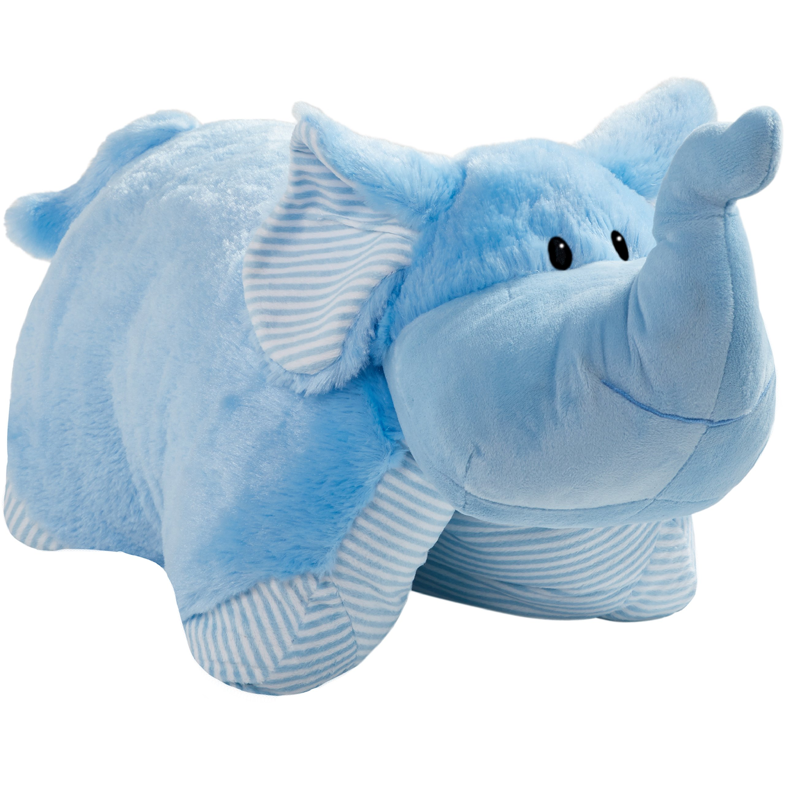 Pillow Pets My First, Blue Elephant, 18'' Stuffed Animal Plush Toy by Pillow Pets