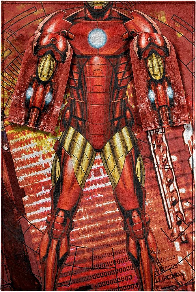 Iron Man Fleece Blanket Funny Gift Idea For Fan Blanket For Iron Man Lover