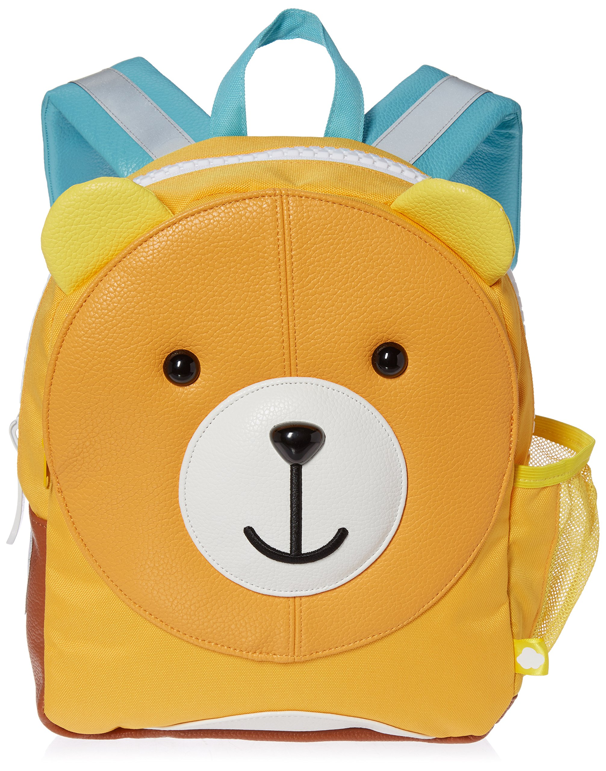 Puku Pals Premium Bear Kids Brown Backpack Bag for Boys and Girls