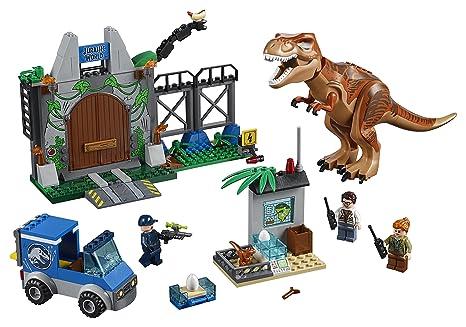 LEGO Juniors - Fuga del T. rex, juego de construcción (10758 ...