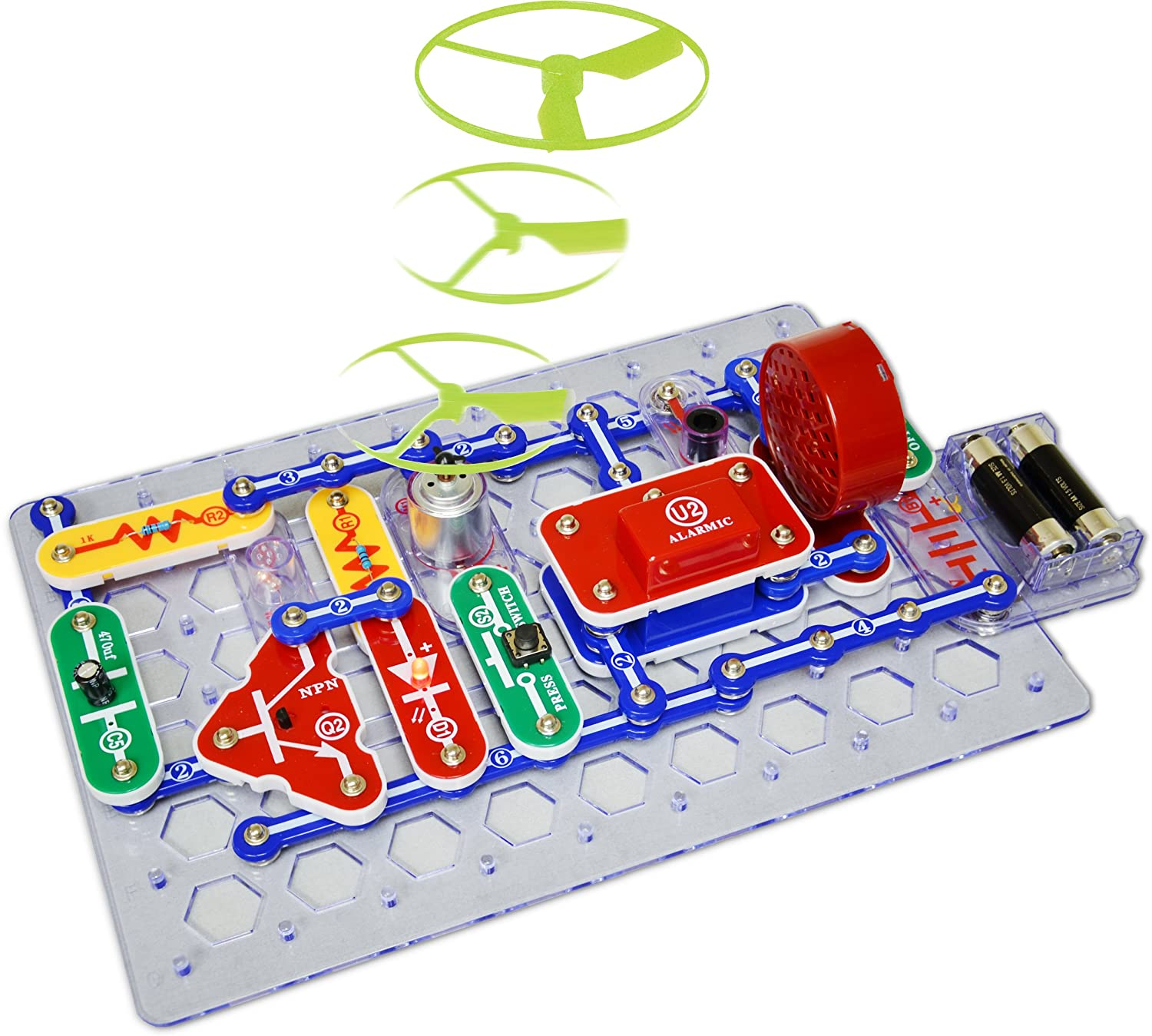 Buy Elenco Circuit Maker 125 Skill Builder Electronics Discovery Kit Electrical Science Project Online At Low Prices In India