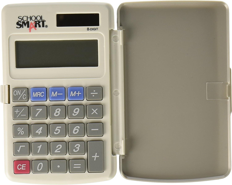 Casio HL 4/A Standard Pocket Size 8/Digit Big LCD