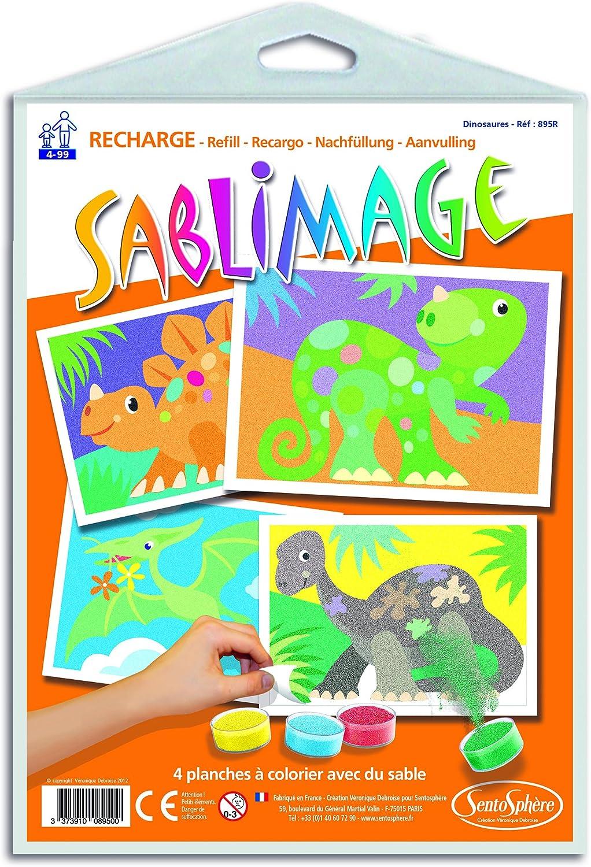 Sablimage Loisir Cr/éatif Dinosaures Sentosph/ère 895