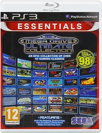 SEGA Mega Drive: Ultimate Collection- Essentials (PS3) [Importación inglesa]: Amazon.es: Videojuegos