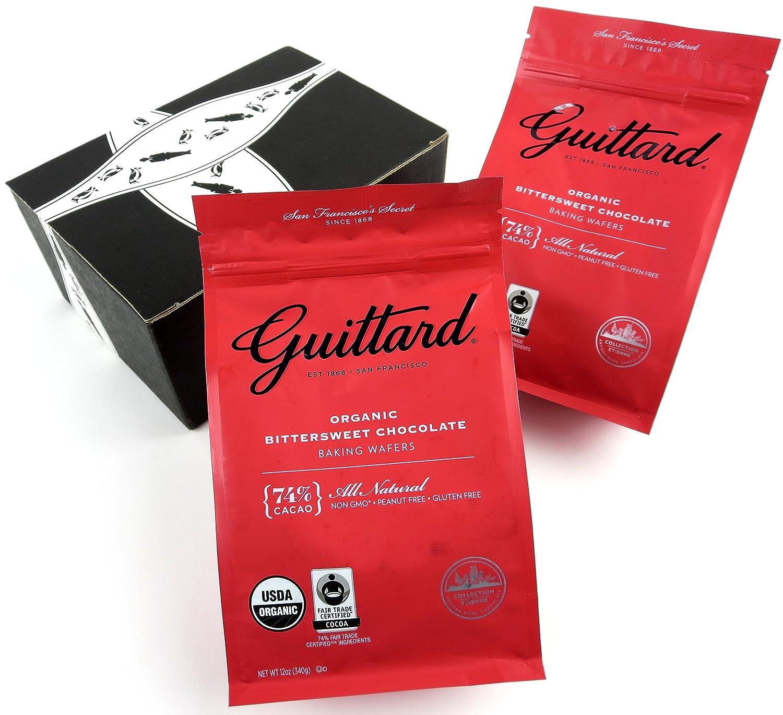 Amazon.com : Guittard Organic 74% Cacao Bittersweet Chocolate ...