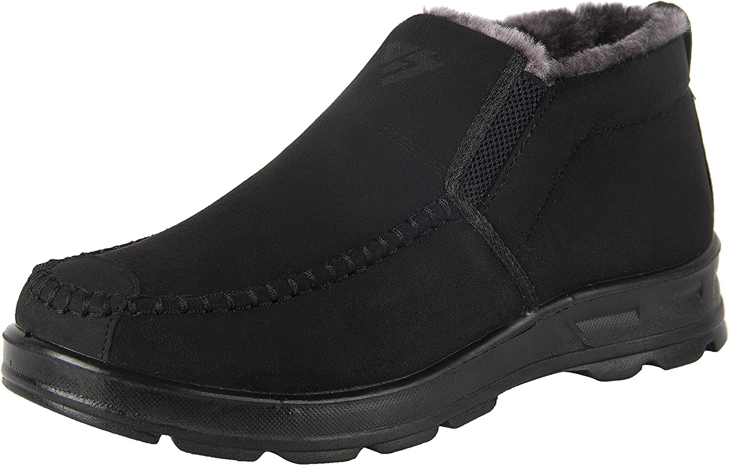 iLoveSIA Mens Warm Fur Lining Winter Outdoor Casual Snow Ankle Boots