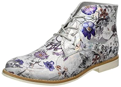 946 Eu 39 Silber Chukka oliver Damen S Boots Flower 25100 silver w8A7ZO