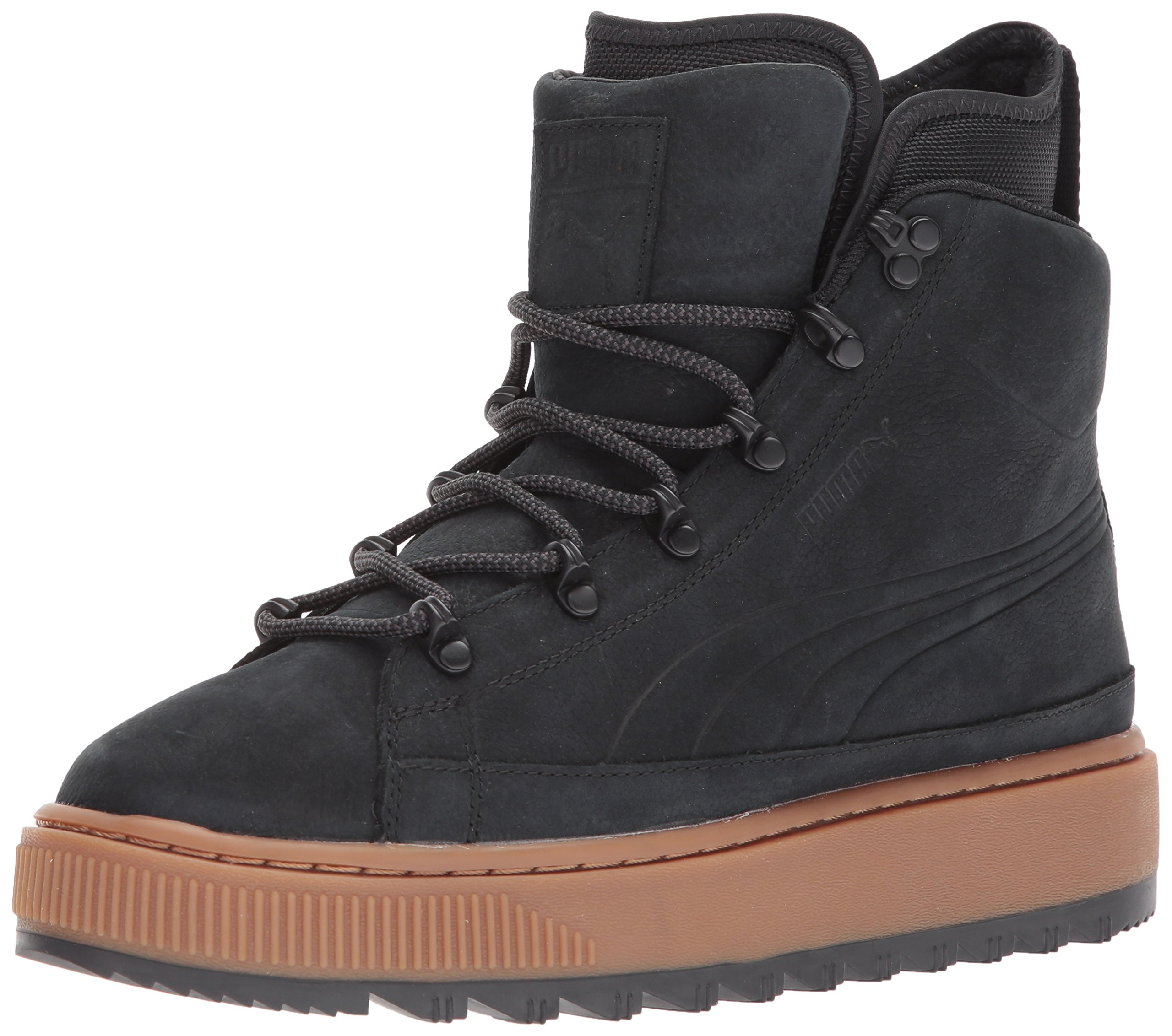 PUMA Men's the Ren Boot Nbk Sneaker, Puma Black, 9 M US