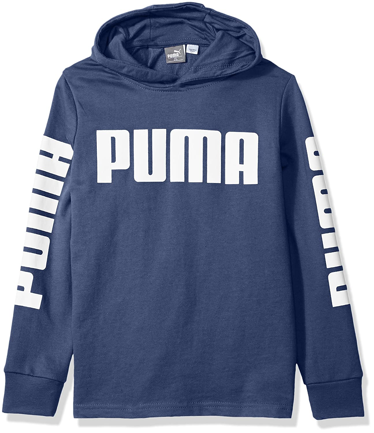 PUMA Big Boys' Rebel Pull Over Hoodie