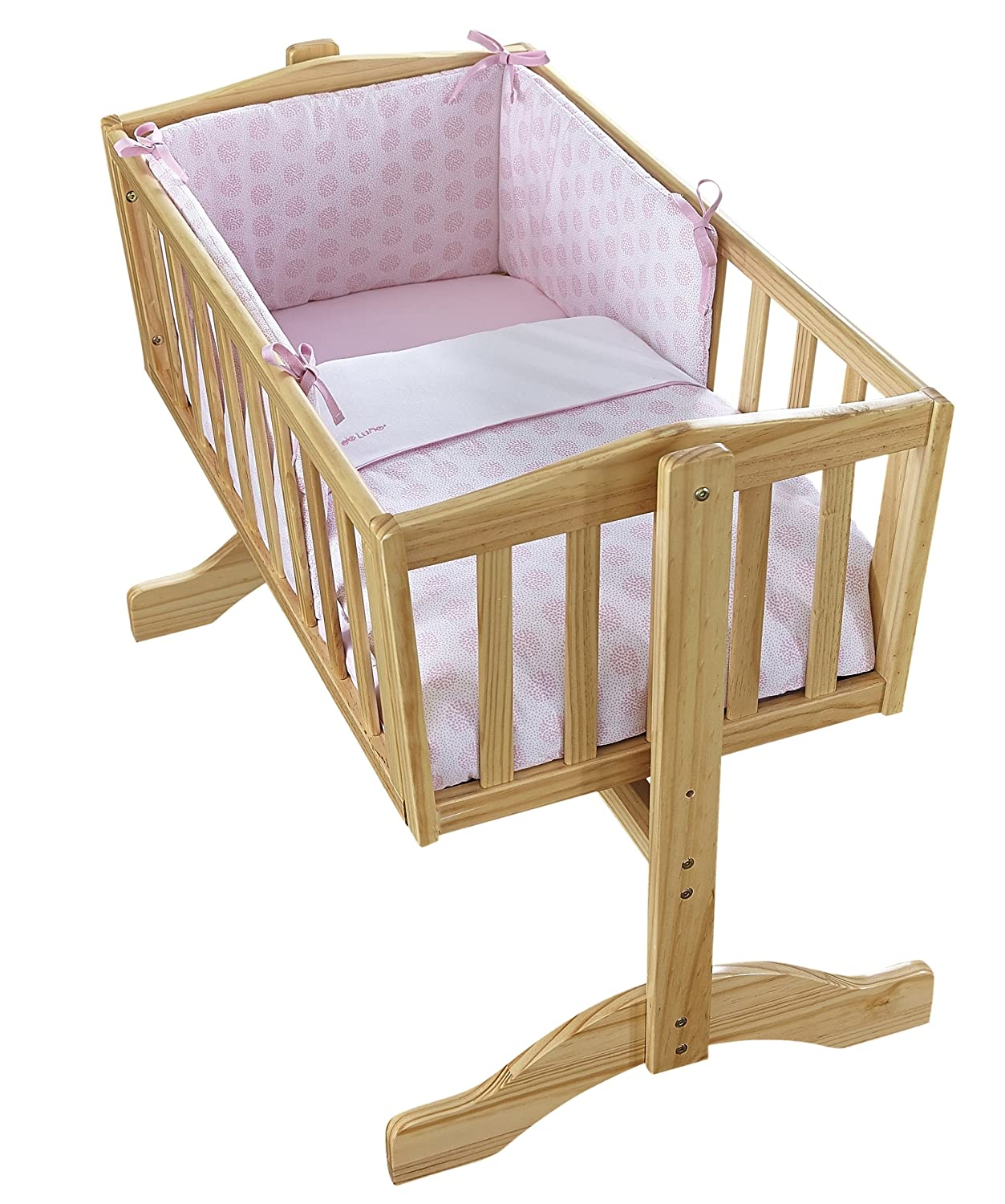Clair de Lune Speckles Crib Set (Blue, 2-Piece) Cl5851BE