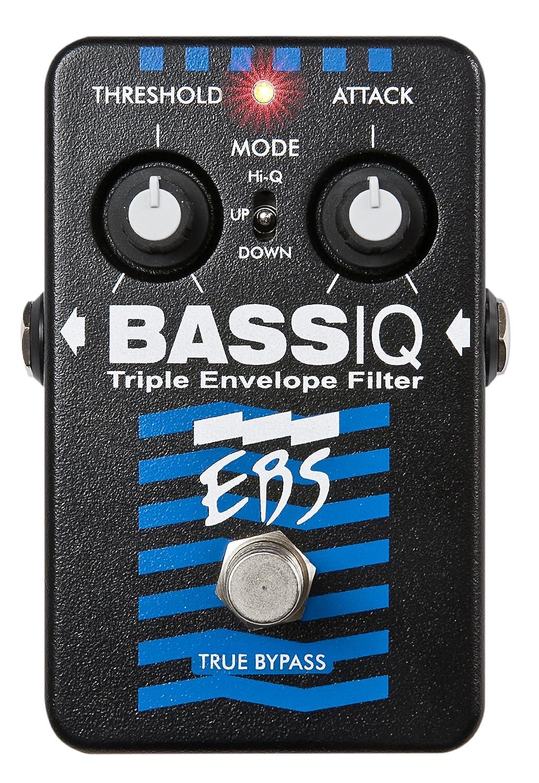 EBS EBSIQ BassIQ Effekt Pedal, 9V Alpine EBS-IQ