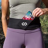 Sporteer VersaSlim Running Belt, Travel Money and Passport Belt, Workout Waist Pack for Mobile Phones and Personal Items