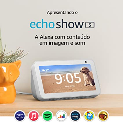 Echo Show 5 - Smart Speaker com