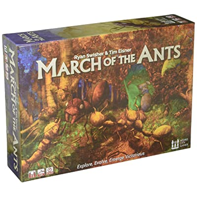 Weird City Games March of The Ants Strategy Board Game: Toys & Games