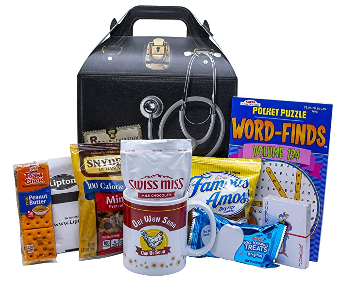 Get Well Soon Care Package Gift (Available in 2 Sizes) … Standard
