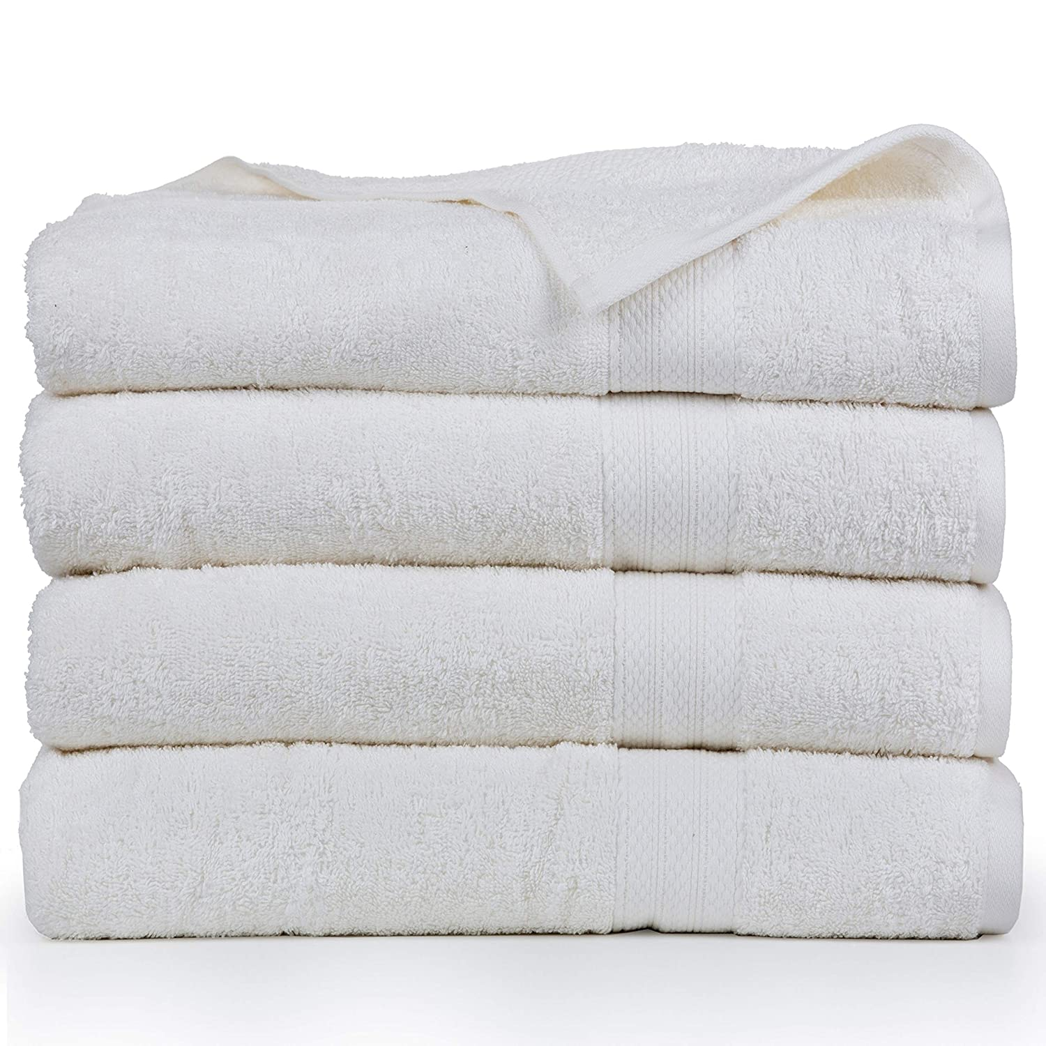 Jade Affinity Home Collection Economic Collection Cotton Soft Oversized Bath Sheets 4 Pack