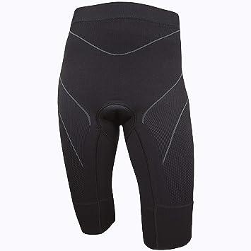 BRUBECK® Mujer 1/2 bicicleta pantalones, pantalones acolchada ...