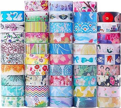 48 rolls washi tape set decorative tape japanese style design great glitter washi tape