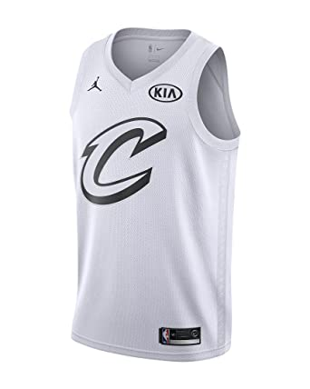 Nike NBA Cleveland Cavaliers Lebron James 23 All Star Game 2018 Los Angeles Jersey Oficial Jordan Brand, Camiseta de Hombre: Amazon.es: Ropa y accesorios