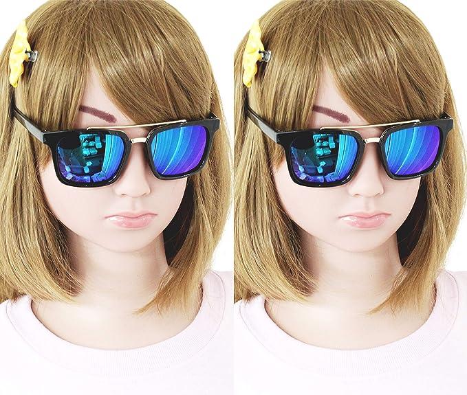 Amazon.com: KD3047-vp - Lote de 2 gafas de sol retro para ...