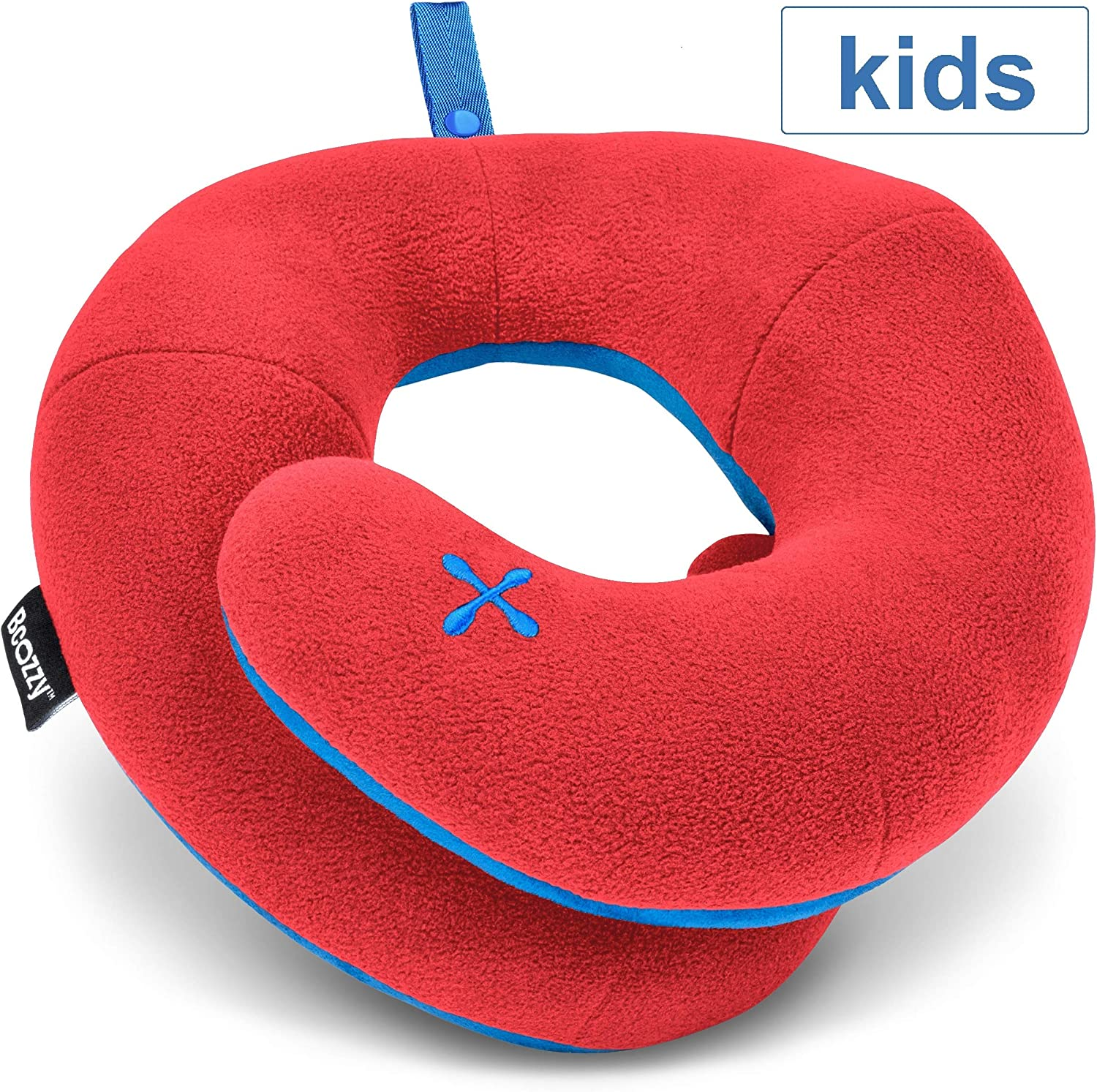 BCOZZY KIDS Chin Supporting Travel Pillow Keeps The Child's Head from Bobbing up and Down in Car Rides Comfortably Supports The Head, Neck and Chin