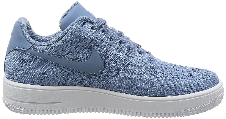 size 40 f77a0 cc2f2 Nike Af1 Ultra Flyknit bajo Zapatillas Running Hombre 817419 Zapatillas (UK  8.5Us 9.5 Eu 43 , Trabajo Azul Blanco 402): Amazon.es: Zapatos y  complementos