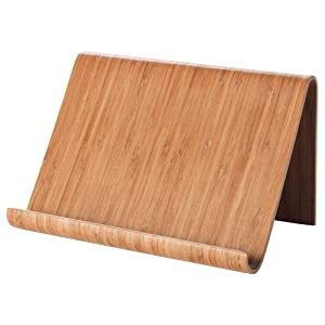 IKEA Comfortable and Adjustable Kitchen Cooking Tablet Stand (Bamboo)