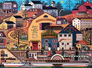 product image for Buffalo Games - Charles Wysocki - The Bostonian - 1000 Piece Jigsaw Puzzle