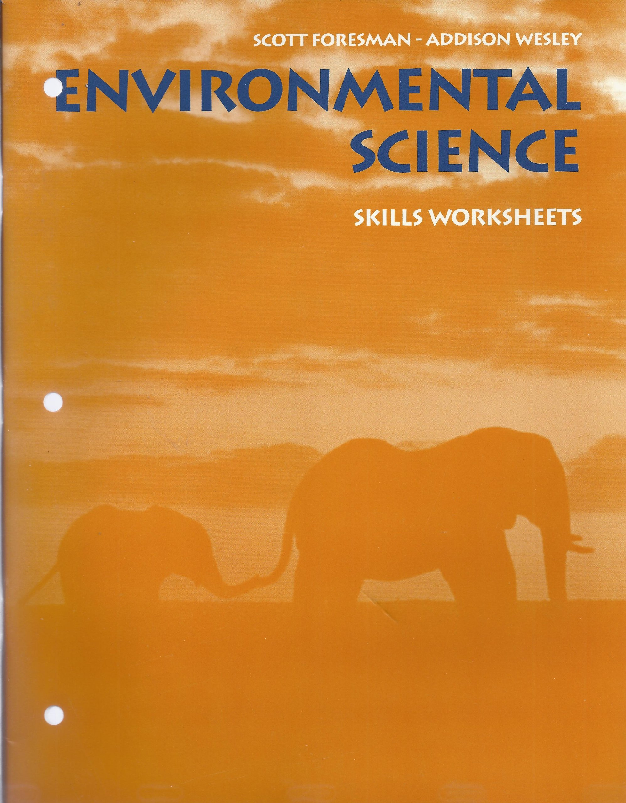 Worksheets Scott Foresman Worksheets environmental science skill worksheets scott foresman addison wesley 9780201333084 amazon com books