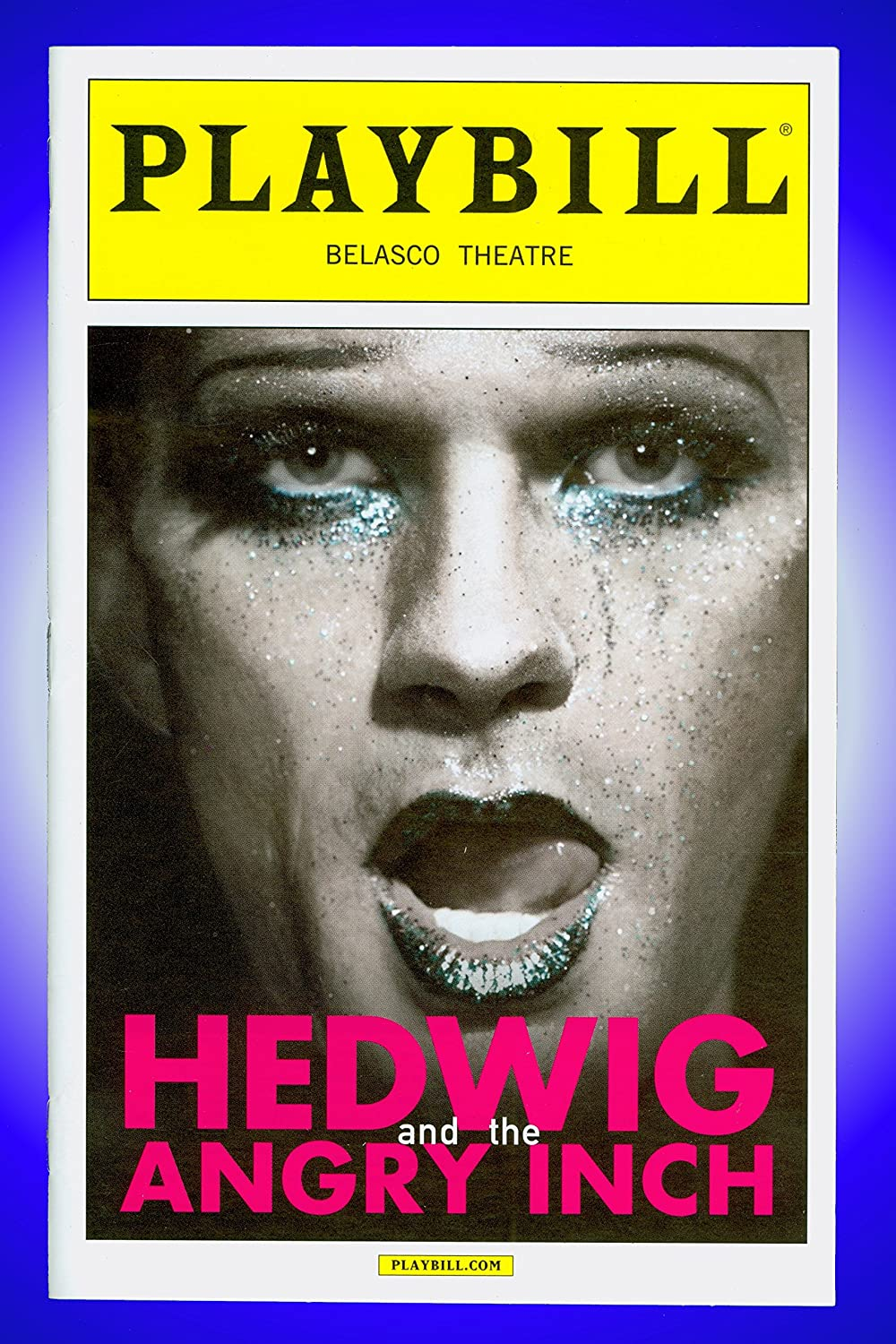 Hedwig and the Angry Inch, Broadway Playbill + Neil Patrick Harris, Lena Hall Justin Craig Lena Hall John Cameron Mitchell