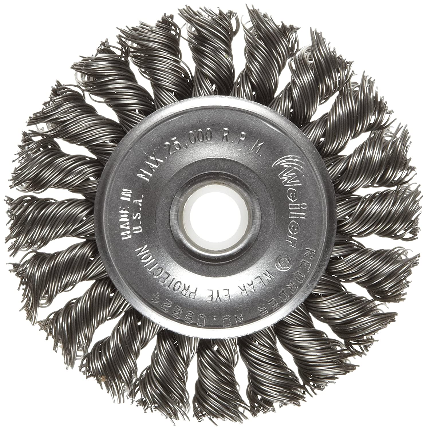 Alfa Tools WB67180SS 2-3//8 x 5//8-11 Stainless Steel Knotted Cup Brush