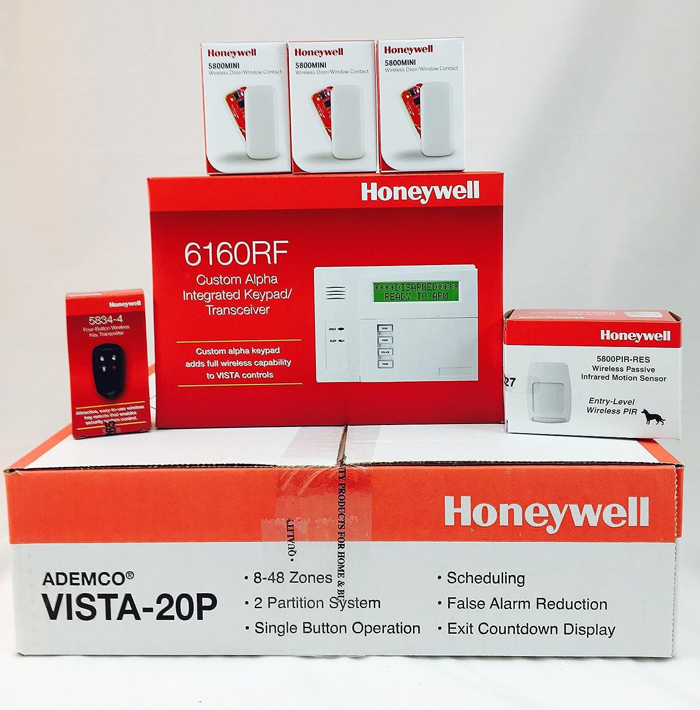 Honeywell Vista-20p 10.23 /& 6160RF Custom Alpha Integrated Keypad//Transceiver