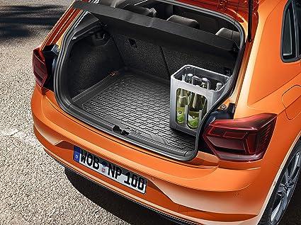 AW hb//5 superiore Bagagliaio 10.2017 -... VELLUTO NUOVO Tappetino bagagliaio VW Polo VI 2g