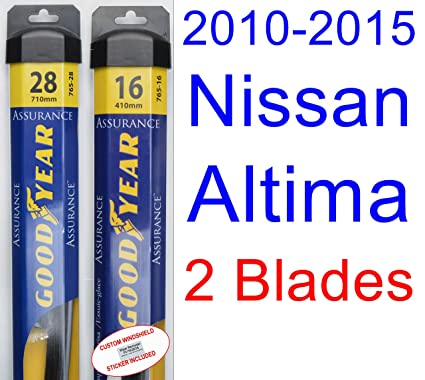 Amazon Com 2010 2015 Nissan Altima Replacement Wiper Blade Set Kit