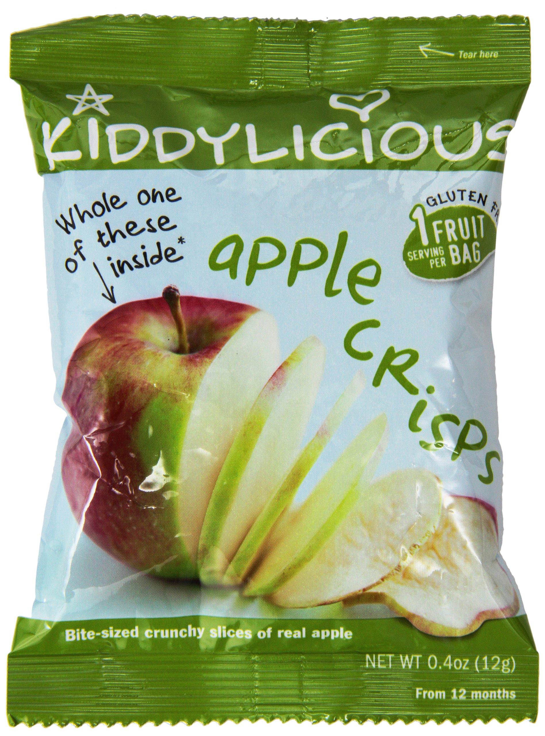 Kiddylicious, Apple Crisps, 10.2 oz (24 bags) by Kiddylicious