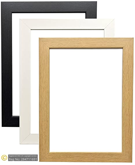 Bargain Shop Az Modern Style Black Oak White Picture Frames Photo