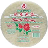 Rice Paper (Spring Roll Wrappers) 22cm 400g by Banh Trang