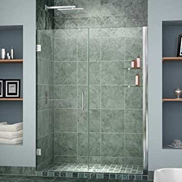 Dreamline unidoor 47 48 in width frameless hinged shower door 38 dreamline unidoor 47 48 in width frameless hinged shower door 3 eventshaper
