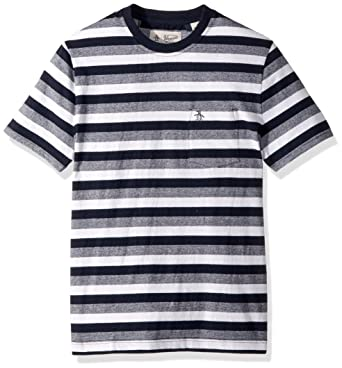 e29097f8 Amazon.com: Original Penguin Men's Auto Striped Pocket Tee: Clothing
