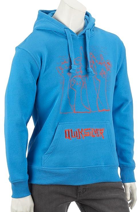 Quiksilver Hood Rib – Sudadera con capucha sudadera, 56 Thumbs Costa Azul Azul 56 thumbs